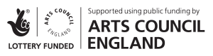arts council funding logo blk
